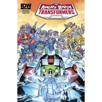 ANGRY BIRDS TRANSFORMERS #4 (OF 4) - John Barber