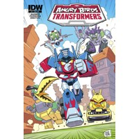 ANGRY BIRDS TRANSFORMERS #4 (OF 4) SUBSCRIPTION VAR - John Barber