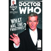 DOCTOR WHO 12TH #6 SUBSCRIPTION PHOTO - Robbie Morrison