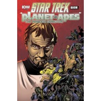 STAR TREK PLANET OF THE APES #4 (OF 5) - Scott Tipton, David Tipton