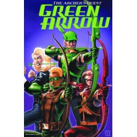 GREEN ARROW ARCHERS QUEST DELUXE ED HC - Brad Meltzer