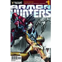 ARMOR HUNTERS #1 (OF 4) 2ND PTG - Robert Venditti