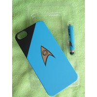 STAR TREK IPHONE 5 SCIENCES BLUE CASE STYLUS
