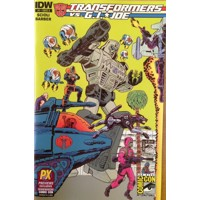 SDCC 2014 TRANSFORMERS VS GI JOE #1 CVR A - Tom Scioli, John Barber