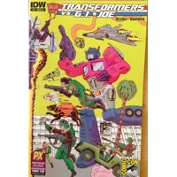 SDCC 2014 TRANSFORMERS VS GI JOE #1 CVR B - Tom Scioli, John Barber