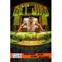 GET JIRO BLOOD AND SUSHI HC (MR) - Anthony Bourdain, Joel Rose