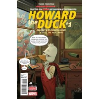 HOWARD THE DUCK #1 QUINONES 3RD PTG VAR - Chip Zdarsky