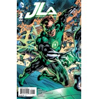 JUSTICE LEAGUE OF AMERICA #1 GREEN LANTERN VAR ED - Bryan Hitch