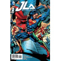 JUSTICE LEAGUE OF AMERICA #1 SUPERMAN VAR ED - Bryan Hitch