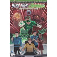 STAR TREK GREEN LANTERN #1 (OF 6) REG RODRIGUEZ - Mike Johnson