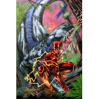 FLASH HC VOL 07 SAVAGE WORLD - Robert Venditti, Van Jensen