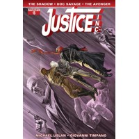 JUSTICE INC #5 (OF 6) CVR A ROSS MAIN - Michael Uslan