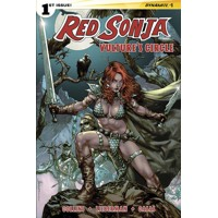 RED SONJA VULTURES CIRCLE #1 CVR A ANACLETO - Nancy A. Collins, Luke Lieberman