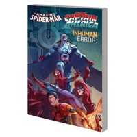 AMAZING SPIDER-MAN INHUMANS ALL NEW CAPTAIN AMERICA INHUMAN ERROR TP - Jeff Lo...