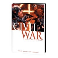 CIVIL WAR HC MCNIVEN CVR NEW PTG - Mark Millar