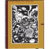 TMNT KEVIN EASTMAN NOTEBOOK SERIES HC 2014 ANNUAL - Kevin Eastman
