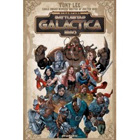STEAMPUNK BATTLESTAR GALACTICA 1880 TP - Tony Lee