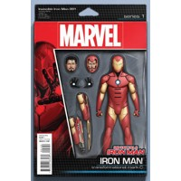 INVINCIBLE IRON MAN #1 ACTION FIGURE VAR - Brian Michael Bendis