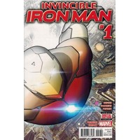 INVINCIBLE IRON MAN #1 PREMIERE PREVIEW VAR - Brian Michael Bendis