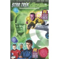 SDCC 2015 STAR TREK GREEN LANTERN #1 CVR A - Mike Johnson