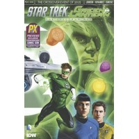 SDCC 2015 STAR TREK GREEN LANTERN #1 CVR B - Mike Johnson
