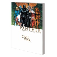 CIVIL WAR BLACK PANTHER TP NEW PTG - Reginald Hudlin