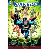 JUSTICE LEAGUE TP VOL 06 INJUSTICE LEAGUE - Geoff Johns