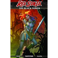 RED SONJA BLACK TOWER TP - Frank Tieri