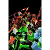 GREEN LANTERN CORPS THE LOST ARMY TP - Cullen Bunn