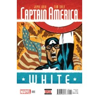 CAPTAIN AMERICA WHITE #1 až 5 (OF 5) - Jeph Loeb