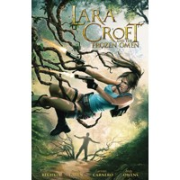 LARA CROFT AND THE FROZEN OMEN TP - Corinna Bechko