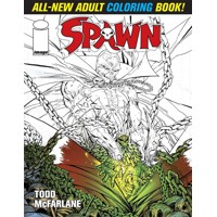 SPAWN ADULT COLORING BOOK - Todd McFarlane