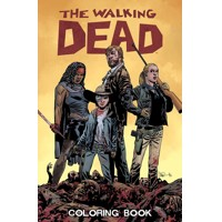 WALKING DEAD ADULT COLORING BOOK (MR) - Robert Kirkman