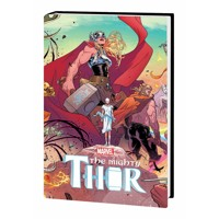 MIGHTY THOR PREM HC THUNDER IN HER VEINS VOL 01 - Jason Aaron