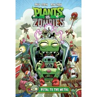 PLANTS VS ZOMBIES PETAL TO THE METAL HC - Paul Tobin