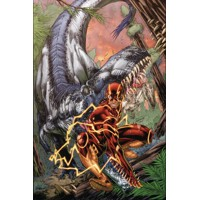 FLASH TP VOL 07 SAVAGE WORLD - Robert Venditti, Van Jensen