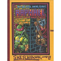 TMNT KEVIN EASTMAN NOTEBOOK SERIES HC RAPHAEL - Kevin Eastman