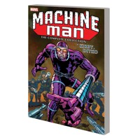 MACHINE MAN BY KIRBY AND DITKO COMPLETE COLLECTION TP - Various