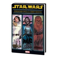 STAR WARS HEROES FOR NEW HOPE HC - Various