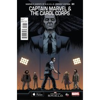 CAPTAIN MARVEL AND CAROL CORPS #1 MAOS VAR - Kelly Sue DeConnick, Kelly Thomps...