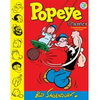 POPEYE CLASSICS HC VOL 08 I HATE BULLIES - Bud Sagendorf