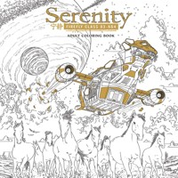 SERENITY ADULT COLORING BOOK TP - Sean Cooke & Various