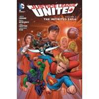 JUSTICE LEAGUE UNITED TP VOL 02 THE INFINITUS SAGA - Jeff Lemire