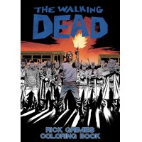 WALKING DEAD RICK GRIMES ADULT COLORING BOOK (MR)