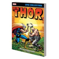 THOR EPIC COLLECTION TP WHEN TITANS CLASH - Stan Lee