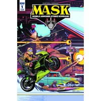MASK MOBILE ARMORED STRIKE KOMMAND #1 - Brandon Easton
