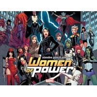 WOMEN OF POWER STANDEE PUNCH OUT BOOK TP - Various