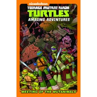 TMNT MEETING OF THE MUTANIMALS HC - Matthew K. Manning, Landry Quinn Walker, C...
