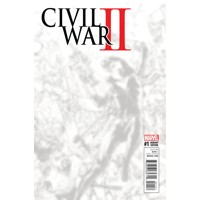 CIVIL WAR II #1 (OF 8) GI B&W VIRGIN CONNECTING B VAR - Brian Michael Bendis