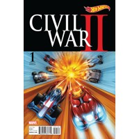 CIVIL WAR II #1 (OF 8) HOT WHEELS VAR - Brian Michael Bendis